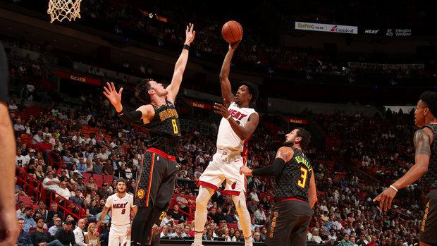 NBA: Hawks 93, Heat 102