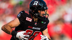 Redblacks Sinopoli done for the season