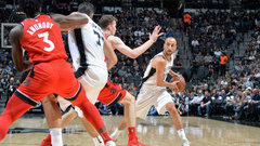 NBA: Raptors 97, Spurs 101