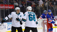 NHL: Sharks 4, Rangers 1