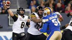 CFL: Tiger-Cats 30, Blue Bombers 13
