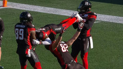 Must See: Redblacks do the limbo after Spencer's TD