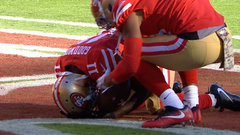 Must See: After death of his son, emotions overcome Goodwin following his TD