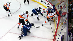 Must See: Gudas slashes Perreault over head with stick