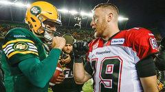 Edmonton or Calgary will win if...