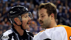 Gudas offered in-person hearing for slash on Perreault