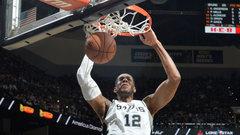 NBA: Thunder 101, Spurs 104