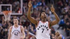 NBA: Knicks 84, Raptors 107