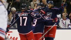 NHL: Rangers 0, Blue Jackets 2