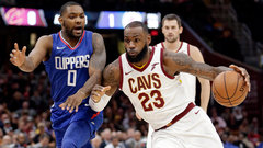 NBA: Clippers 113, Cavaliers 118 (OT)