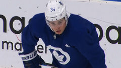 Leafs Ice Chips: Matthews expects to be game-time decision in Montreal