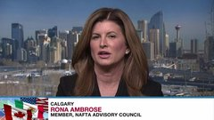 Politicians not wanted at latest round of NAFTA renegotiations, says Rona Ambrose