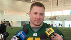 Sherritt's goal is to play in Grey Cup