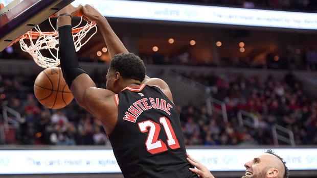 NBA: Heat 91, Wizards 88