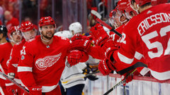 NHL: Sabres 1, Red Wings 3