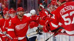 NHL: Sabres 1, Red Wings 3