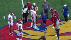 Must See: Mayfield snubbed by children during pregame handshake