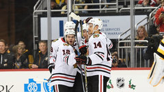 NHL: Blackhawks 2, Penguins 1