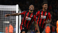 Wilson hat trick as Bournemouth beats Huddersfield