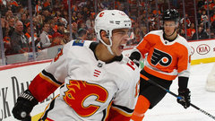 Button: Monahan and Gaudreau's ability to break down opponents is 'scary'