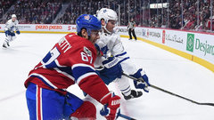 Leafs, Habs looking to out-bore each other tonight