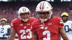 NCAA: (24) Michigan 10, (5) Wisconsin 24