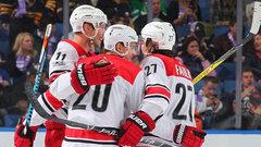 NHL: Hurricanes 3, Sabres 1