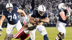 NCAA: Nebraska 44, (10) Penn State 56