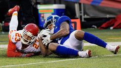 NFL: Chiefs 9, Giants 12 (OT)