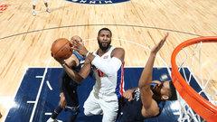 NBA: Pistons 100, Timberwolves 97