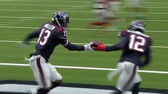 Must See: Texans do relay celebration after Miller's TD