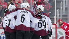 NHL: Avalanche 4, Red Wings 3 (OT)
