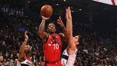 NBA: Wizards 91, Raptors 100