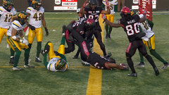 Messam rumbles in for six