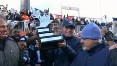 Argos celebrate East Division title