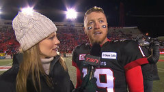 Mitchell describes win over Esks as 'gritty', excited to return to Grey Cup