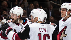 NHL: Coyotes 4, Maple Leafs 1