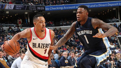 NBA: Trail Blazers 100, Grizzlies 92