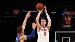 NBA: Clippers 85, Knicks 107