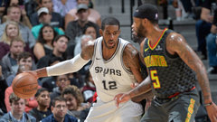 NBA: Hawks 85, Spurs 96