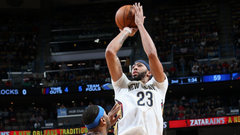 NBA: Thunder 107, Pelicans 114