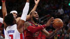 NBA: Cavaliers 116, Pistons 88