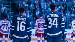 Don't expect Matthews and Marner to play together any time soon