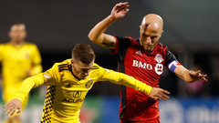 How was TFC able to keep Crew's offence at bay?