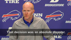 What McDermott really felt about his decision to start Peterman