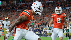 Miami moves to No. 2 ahead of Clemson