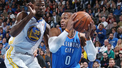 NBA: Warriors 91, Thunder 108