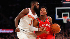 NBA: Raptors 100, Knicks 108