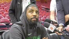 Irving, Celtics taking things one moment at a time