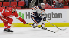 NHL: Oilers 6, Red Wings 2